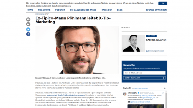 X-Tip: Neuer Chef im Marketing