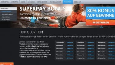 Big Bet World: 80% Gewinnbonus beim Superpay Deal sichern